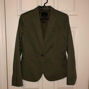 Dark Green Womens Blazer NWOT